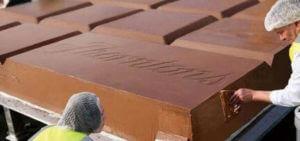 Curiosidades del chocolate - La tableta de chocolate mas grande del mundo