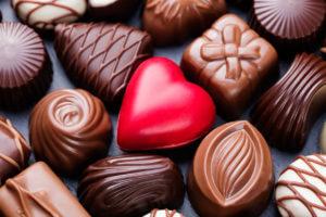 bombones y chocolate